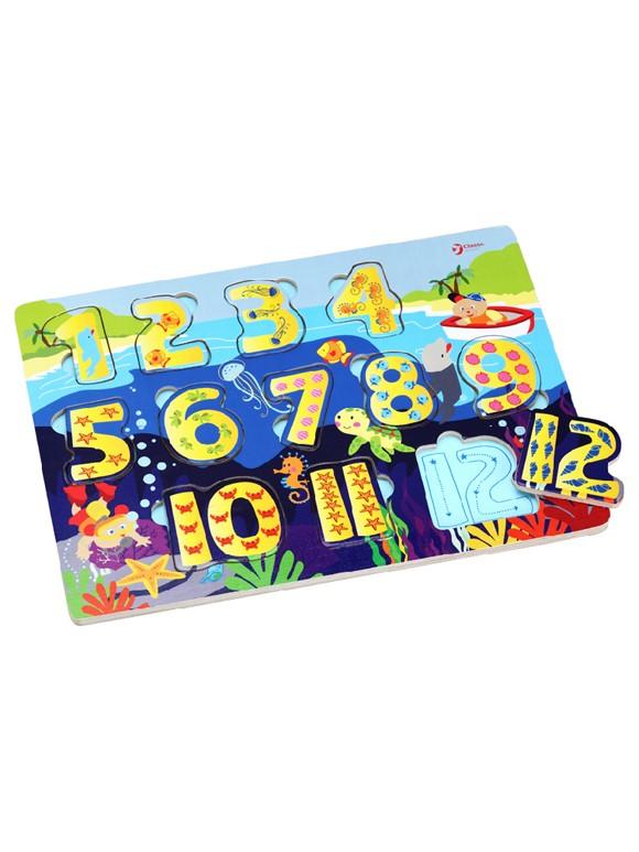 數字拼板580