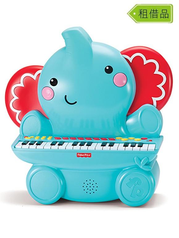 可愛大象音樂琴-580